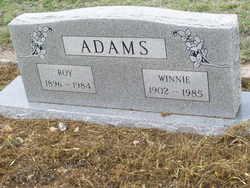 Winnie <i>Mapes</i> Adams
