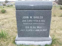 Ida <i>Burkett</i> Shuler