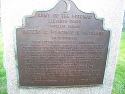 4th United States Artillery, Battery C Monument