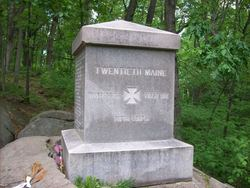 20th Maine Infantry Monument