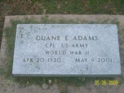 Duane E. Adams