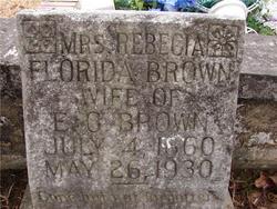 Rebecia Florida <i>Young</i> Brown