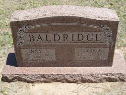 Emma Ellen <i>Oden</i> Baldridge