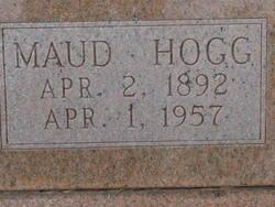 Maud Plummer <i>Hogg</i> Bishop