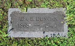 Ada Belle <i>Gregory</i> Duncan