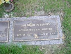 Mildred N <i>Hawk</i> Servis