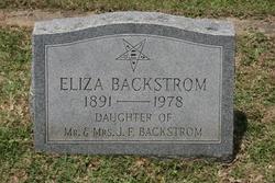 Eliza Backstrom