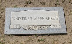 Ernestine Ruby <i>Earl</i> Allen-Ahrens