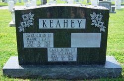 2Lt. Carl John Keahey, III