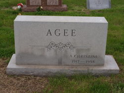 Alice Christine <i>Page</i> Agee