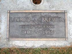 Laurel A <i>Wynn</i> Brewer