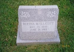 Bertha May <i>Shoudt</i> Ellicott