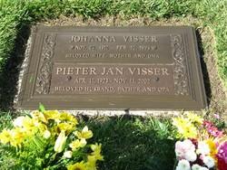 Johanna Pietrnella Joostina <i>Van der Heyden</i> Visser