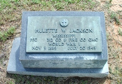 PFC Hulette W. Jackson
