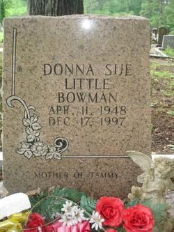 Donna Sue <i>Little</i> Bowman