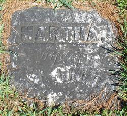 Martha <i>Thompson</i> Allbee