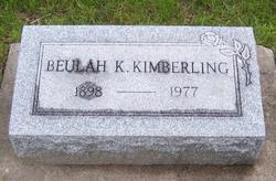 Beulah Katherine <i>Kaufman</i> Kimberling