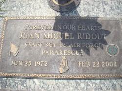 Sgt Juan Miguel Jokester Ridout
