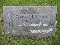 Georgia Belle <i>Heathcoat</i> Peaslee