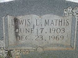 Lewis Lawrence Mathis