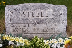 Clarence Frank Steele