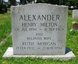 Ruth <i>Morgan</i> Alexander