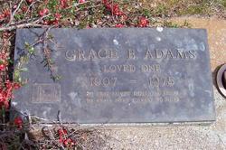 Grace <i>Bowman</i> Adams