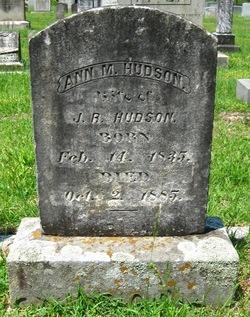 Ann M. <i>Osborne</i> Hudson