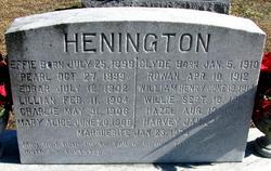 Edgar Alexander Henington