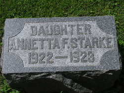 Annetta Frieda Starke