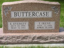 Thelma Irene <i>Inman</i> Buttercase