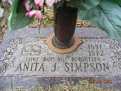Anita Janet <i>Dodd</i> Simpson