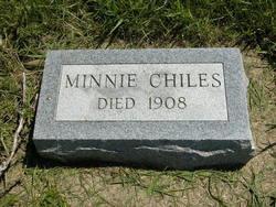 Arminda Barton Minnie <i>Peckenpaugh</i> Chiles
