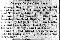 George Gayle Carothers