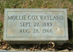 Mollie <i>Cox</i> Wayland