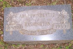 Ada Poindexter Washington