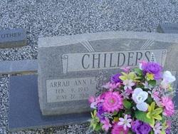 Arrah Ann <i>L</i> Childers