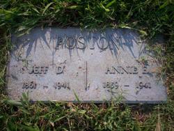 Jefferson Davis Poston