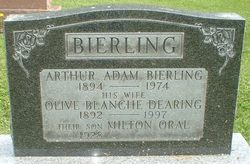 Olive Blanche <i>Dearing</i> Bierling
