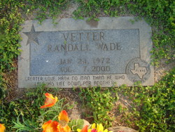 Randall Wade Randy Vetter
