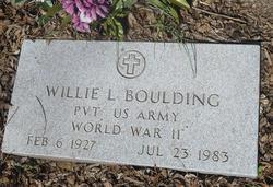 Willie L. Boulding