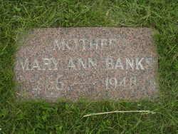 Mary Ann <i>Jacob</i> Banks