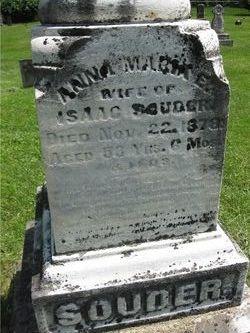 Anna Maria E. <i>Minehart</i> Souder