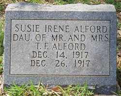 Susie Irene Alford