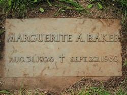 Marguerite A. <i>Scherf</i> Baker