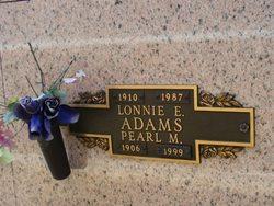 Pearl M Adams