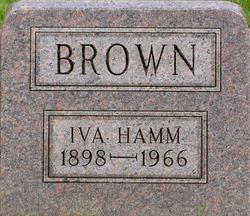 Iva <i>Hamm</i> Brown