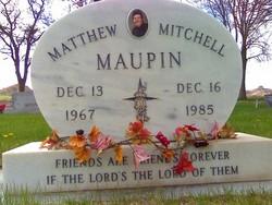 Matthew Mitchell Maupin