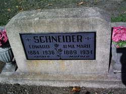 Alma Marie <i>Marx</i> Schneider