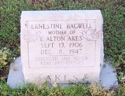 Ernestine <i>Bagwell</i> Akes